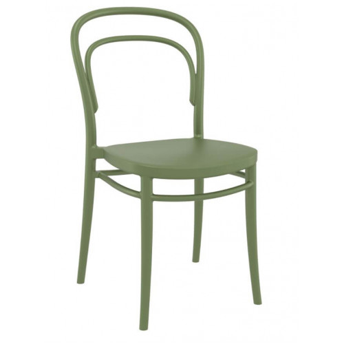 ST MARIE CHAIR OLIVE GREEN